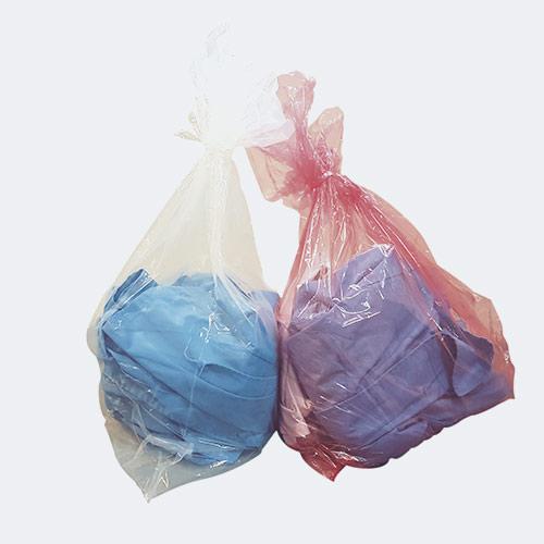 bolsa de lavanderia disuelve en agua