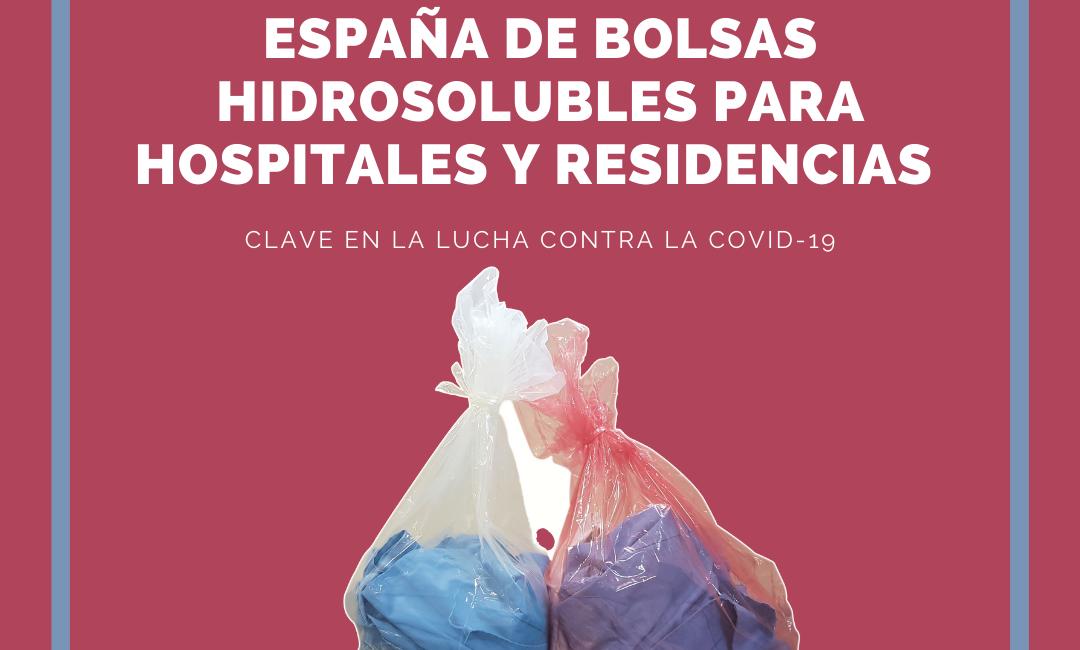 únicas bolsas de lavanderia solubles fabricadas en España