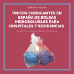 Únicas bolsas de lavandería solubles fabricadas en España